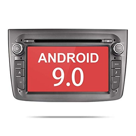 "AUTORADIO NAVIGATORE DVD  7"" ALFA ROMEO MITO ANDROID 9.0 4G"