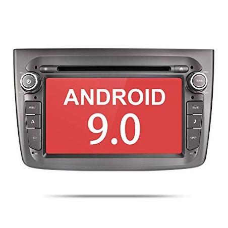 "AUTORADIO NAVIGATORE DVD  OCTACORE 7"" ALFA ROMEO MITO ANDROID 9.0 4GB RAM 64 ROM"