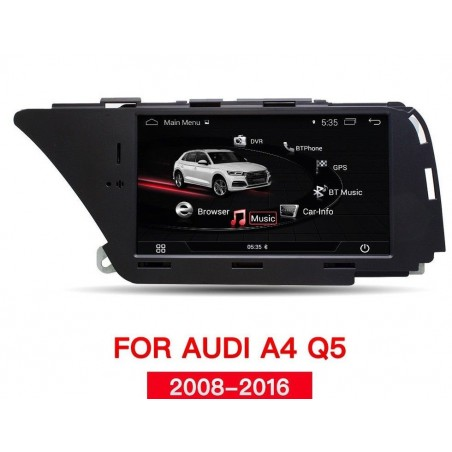 "NAVIGATORE AUDI A4 A5 Q5 7"" ANDROID TOUCH  (2008-2016)"