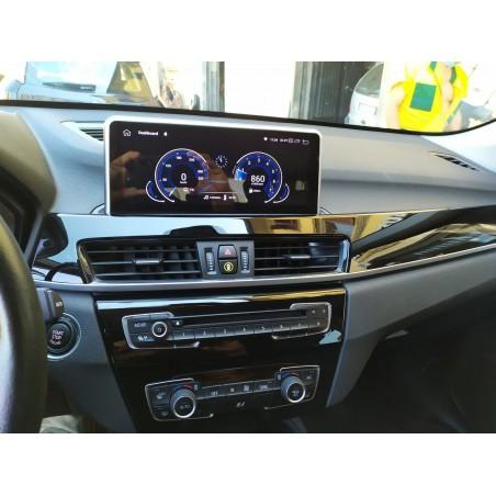 """CARTABLET NAVIGATORE 10.25"""" BMW X1 F48 DAL 2016 NBT WIFI DAL 2015 AL 2017 PX6 GIANTECH PREMIUM"""