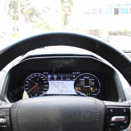 PANNELLO STRUMENTI COCKPIT CRUSCOTTO per TOYOTA LANDCRUISER PRADO DAL 2010 ANDROID LCD TOUCH NAVIGATORE GIANTECH