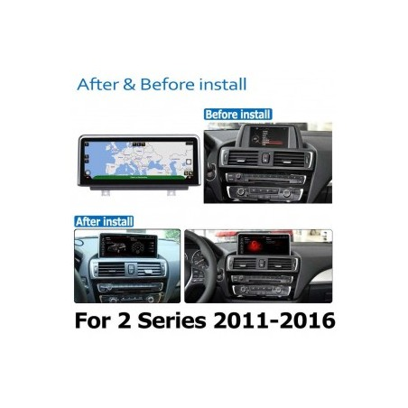 "CARTABLET NAVIGATORE 8,8 "" BMW SERIE 2 F22/F45 F23 CABRIO ANDROID 10 4GB RAM 64 GB ROM QUALCOMM"
