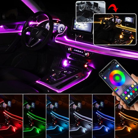KIT LED ILLUMINAZIONE AMBIENT Mercedes CLASSE B W246 CLA CLASSE  A W176 GLA W156