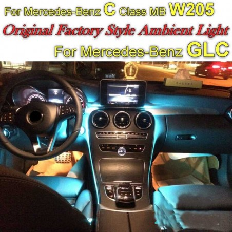 KIT LED ILLUMINAZIONE AMBIENT Mercedes CLASSE C E GLC