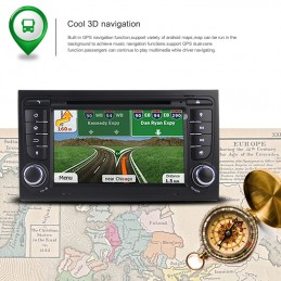 AUTORADIO NAVIGATORE QUADCORE ANDROID 4.4 307 E 207 WIFI S160 HD TOUCH