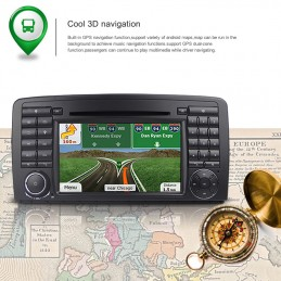 AUTORADIO NAVIGATORE QUADCORE ANDROID 4.4 408 WIFI S160 HD TOUCH