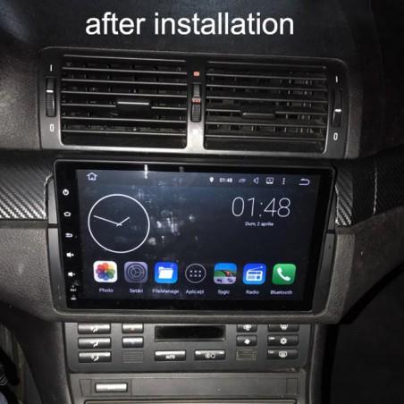 "AUTORADIO NAVIGATORE 9"" BMW SERIE 3 E46 M3 1998-2006 ANDROID 9.0 4G FULL HD DAB KJD"