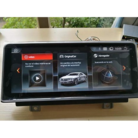 """CARTABLET NAVIGATORE 8,8"""" BMW SERIE 2 ANDROID"""