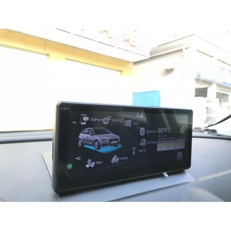 AUTORADIO NAVIGATORE ANDROID 4.4 QUADCORE XTRAIL QASHQAI FULL HD WIFI