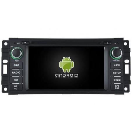 "AUTORADIO NAVIGATORE DVD 7"" JEEP DODGE E CRYSLER  9.0 4GB RAM 32 GB ROM DAB+"