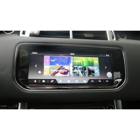 """CARTABLET NAVIGATORE 10,25"""" RANGE ROVER EVOQUE 2016-2018 FULL HD TOUCH DAB CARPLAY ANDROID AUTO"""