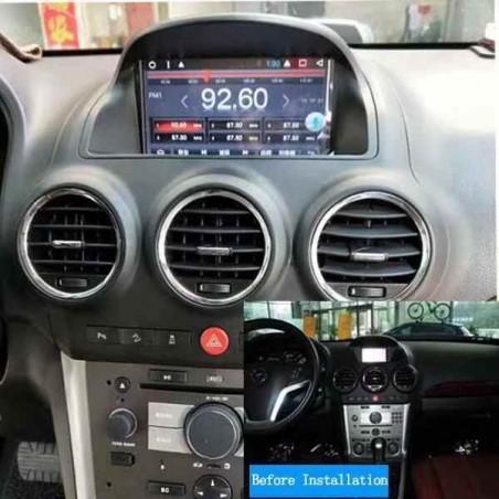 "AUTORADIO NAVIGATORE 7"" OPEL ANTARA 2008-13 ANDROID 8  2 GB RAM 32 GB ROM"