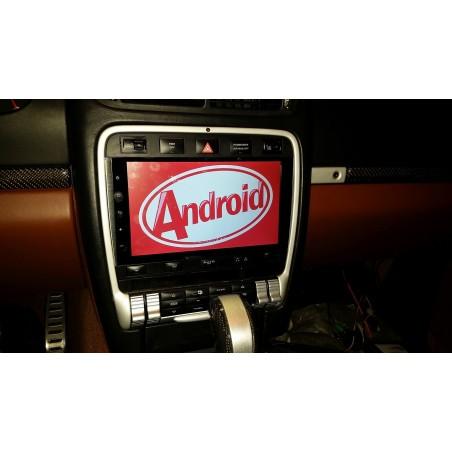 "AUTORADIO NAVIGATORE DVD  9"" PORSCHE CAYENNE 2003-2010 ANDROID 9.0 4GB RAM 32 GB ROM WIFI KJD"
